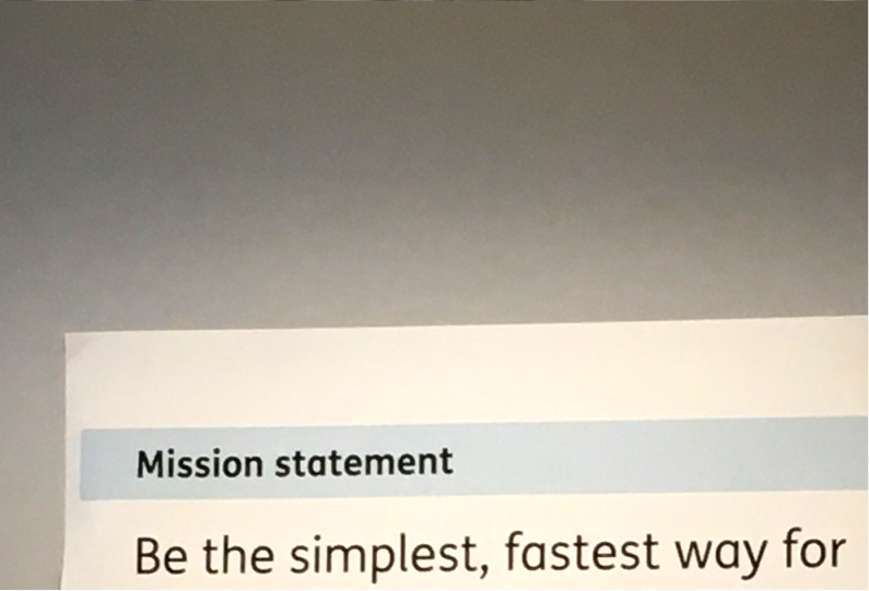 Mission Statement: Be the simplest, faster way...