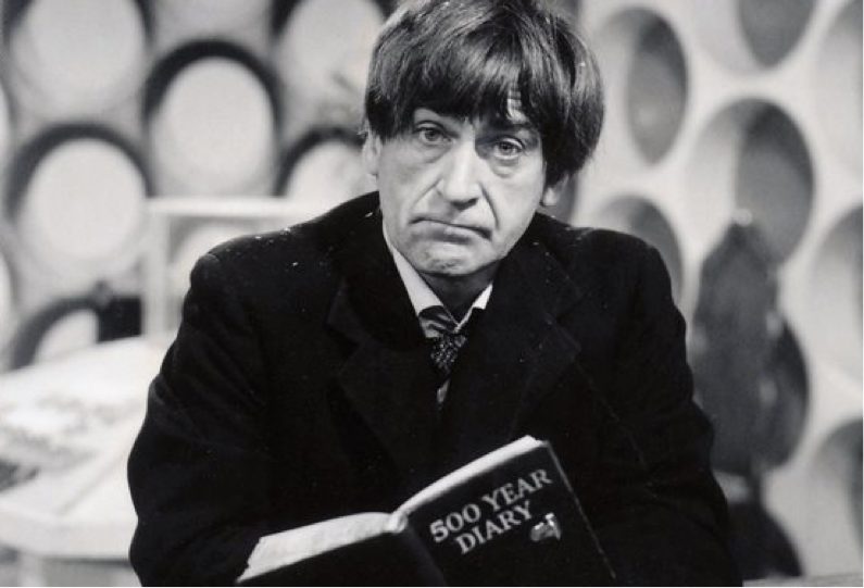 Manipulating time and space - The Second Doctor