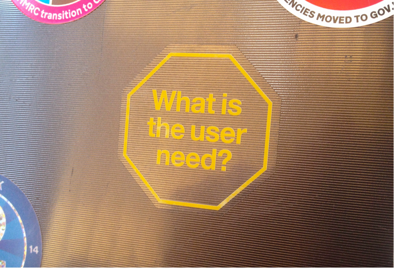 What is the user need?