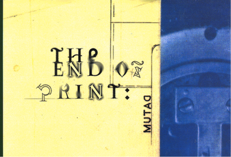 The End of Print (David Carson). Is this the end of digital?